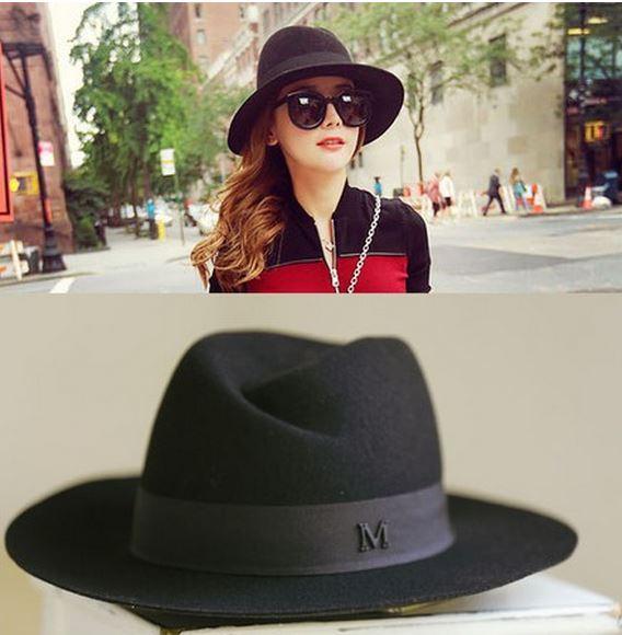Женские шляпы осень 2015 г.